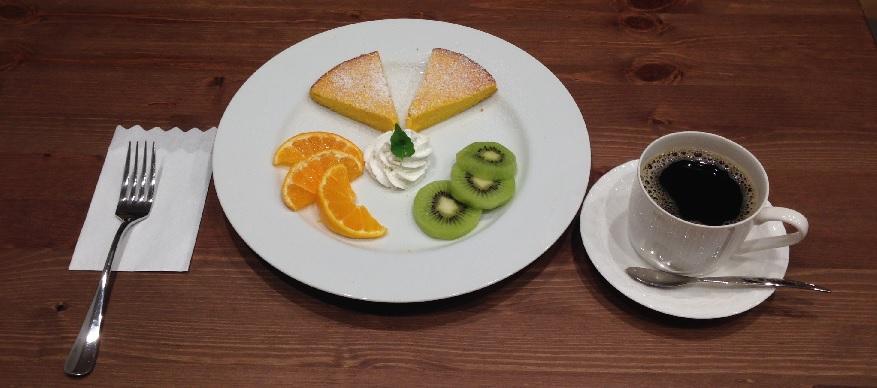 サルーテ パンプキンケーキセット